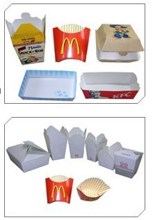Food Paper Box Machine pictures & photos