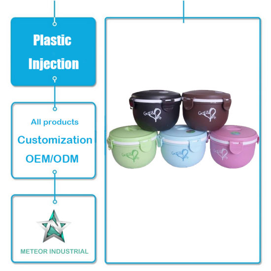 Customized Plastic Injection Mould Products Tableware Plastic Food Container Lunch Box
