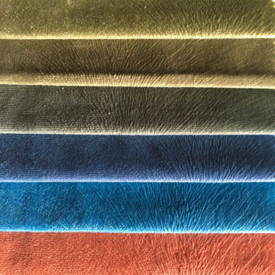 100%Polyester Warp Knitting Burnout Velvet (BR001) pictures & photos