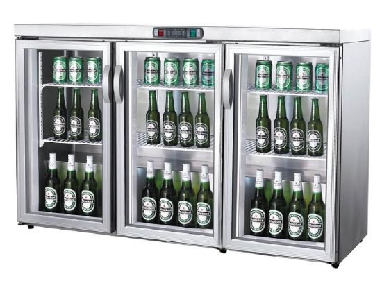 China Commercial Glass Door Upright Beer Refrigerator China Mini