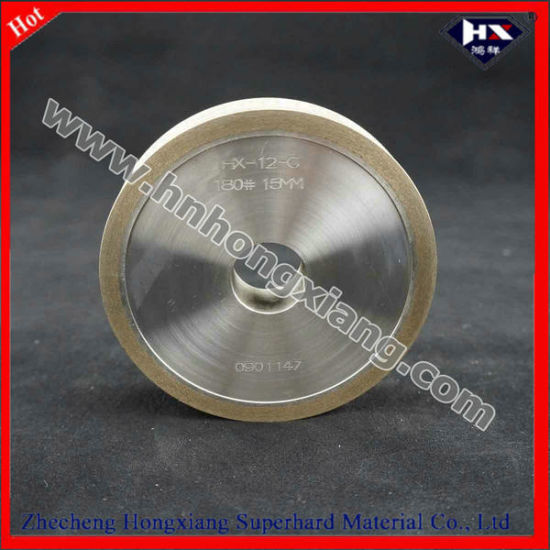 Metal Diamond Flat Edge Grinding Wheel for Glass Edging pictures & photos