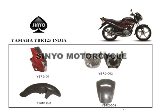 Improved Ybr125 Motorcycle Parts for Honda