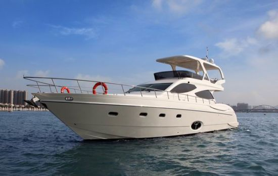 63ft Luxury Motor Yacht with Inboard Engines