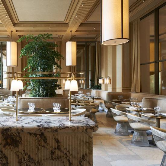 Custom Luxury Modern Design Chair Table