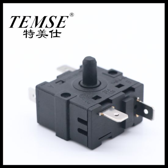 34.5mm*19mm 16A250VAC 3position5pin Rotary-Switch for Cam Oven Electrical Fan Heater