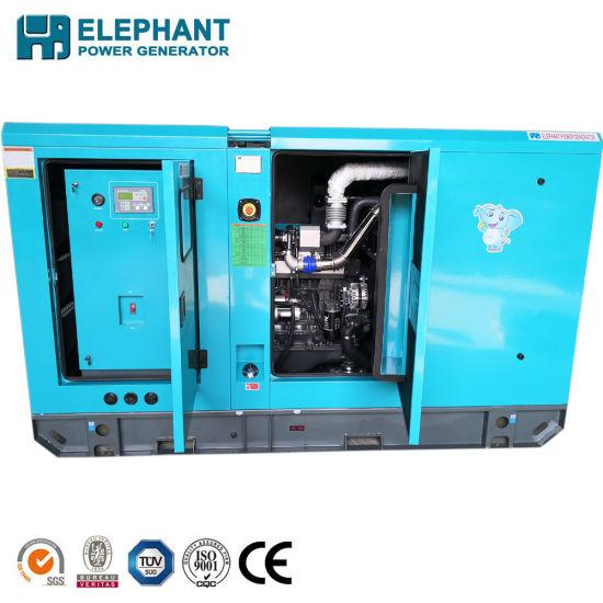 Single Bearing Sdec Soundproof 160kw Big Power Diesel Generator Set