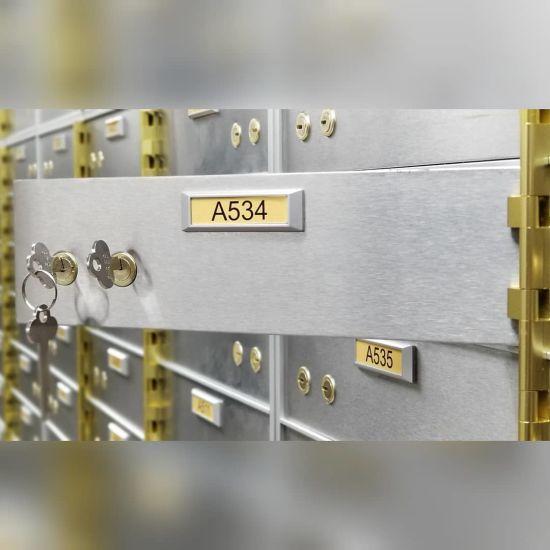China Factory Cheap Stainless Steel Safe Deposit Locker Home Hotel Bank Safe  Deposit Box - China Deposit Box Safe Locker and Safe Deposit Box price