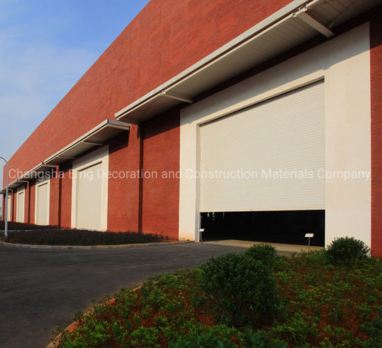 Automatic Industrial Roller Shutters Rolling Shutter Roll-up Garage Door Remote Control Garage Door