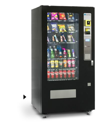 Cooling 8 Wide Snack and Drink Vending Machine