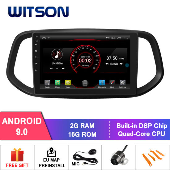 Witson Android 9.0 Car DVD Navigation for KIA K3 2015-2017 pictures & photos