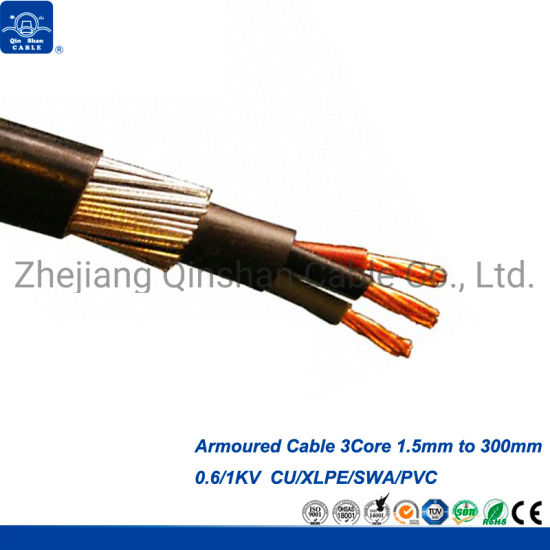 China 4core 1 5mm 2 5mm 4 0mm 6 0mm 10mm 16mm 25mm Armoured Cable China Cable Armoured Cable