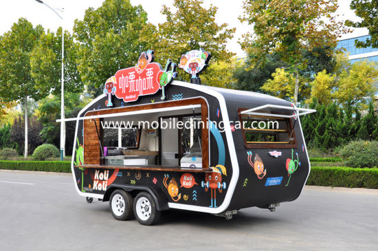 Commercial Kitchen Trailer/Food Cart Business for Sale pictures & photos