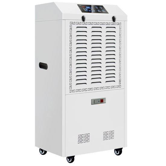 China 90l Commercial Basement Floor Stand Dehumidifier Manufacturer With Pump And Drain Hose China Basement Dehumidifier Manufacturer And 90l Basement Dehumidifier Price