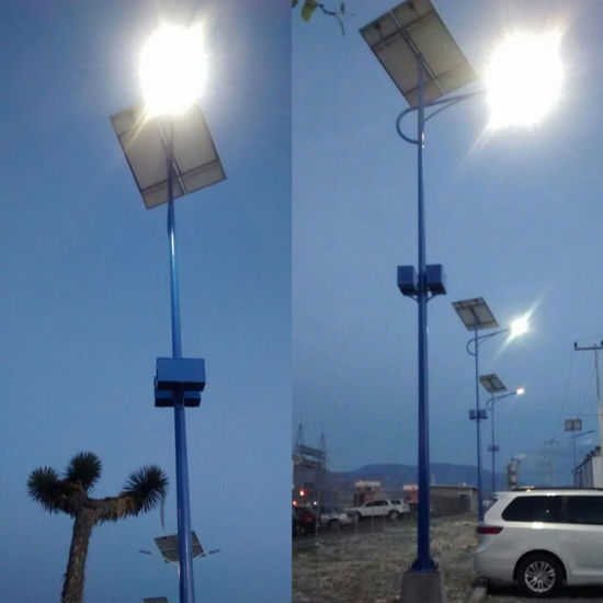 Outdoor High Efficiency Ce RoHS Certified Solar Power LED Street Light pictures & photos