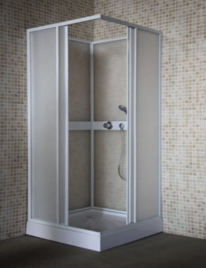 Good Quality Square PP PS PC Plastic Shower Enclosure Room pictures & photos