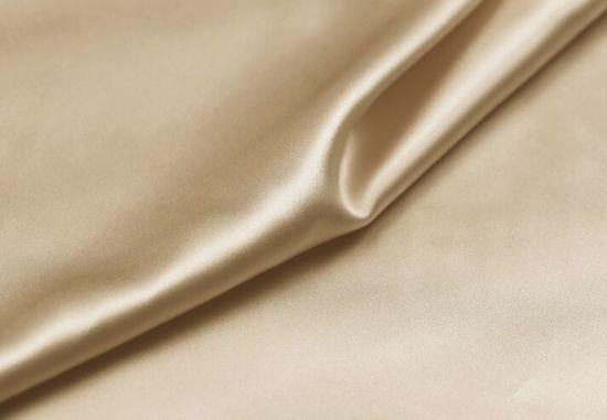 100 Pure Silk Satin Fabric Charmeuse Textiles 30m/M 114cm Champagne