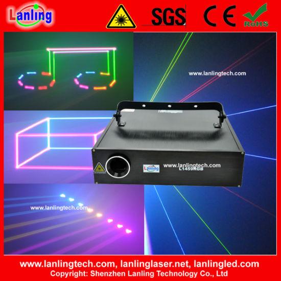 1.5W DJ Laser Light Full Color Animation Text Laser Light