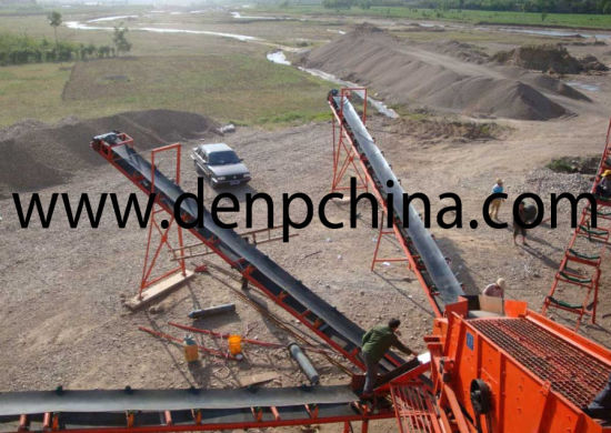 Stone Production Line Mobile Stone Crushing Line pictures & photos