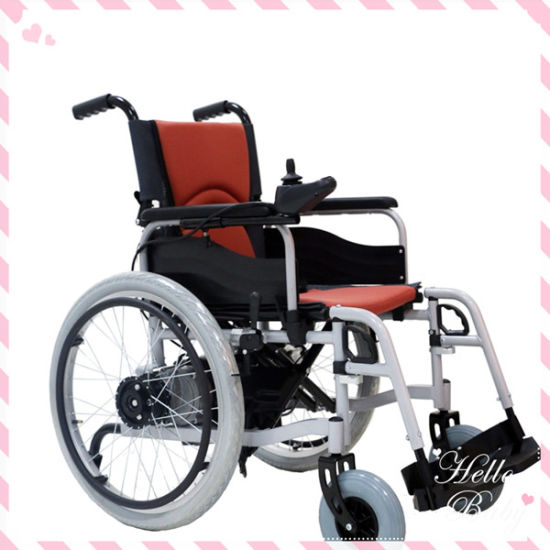 22′′ Big Wheel Electric Wheelchair Power Wheelchair (BZ-6101) pictures & : big electric wheelchair - Cheerinfomania.Com