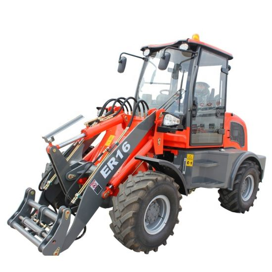 Everun Er16 1.6 Ton China Small Farm Garden Lawn with Mini Front End Wheel Loaders for Sale