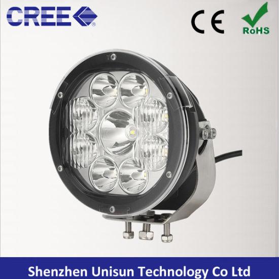 12V/24V 8000lm 90W 9X10W CREE LED Car Driving Light
