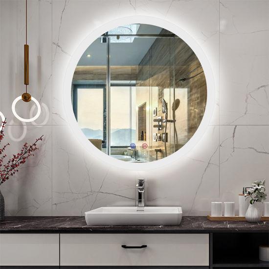 2020 Amazon Hot Wall Hang LED Lighting Bathroom Mirror China Factory