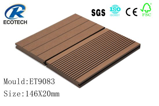 Oudoor Solid WPC Decking, Flooring with High Qualiy