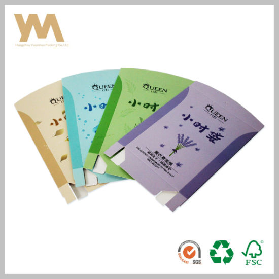 Creative Paper Packaging Cosmetics Box For Face Mask