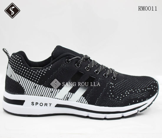 Manufacturer Sport Shoes for Men with Flyknits, Walking Shoes, Running Shoes, Wholesales,