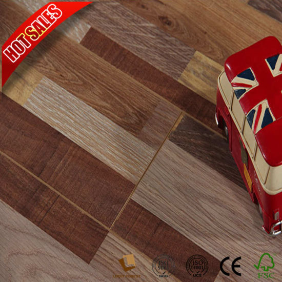 China Cheap Price Traditional Living Laminate Flooring Eir Embossed