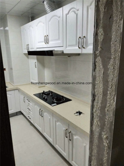 China System Kitchen and PVC Kitchen Cabinet Door - China ...