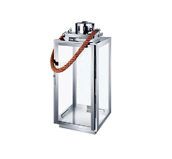 Hanging Stainless Steel Hurricane Lantern