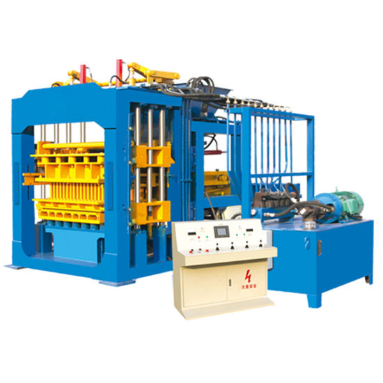 Qt10-15 Fully Automatic Hollow Concrete Block/Brick Making Machine with Wholesale Price