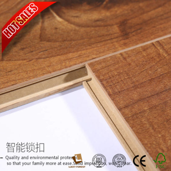 China Factory Laminate Flooring Eir Embossed In Registed 8mm