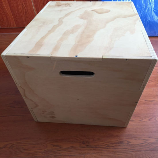 Plyo Wooden Jump Power Plyometric Box for Sale Factory Directly