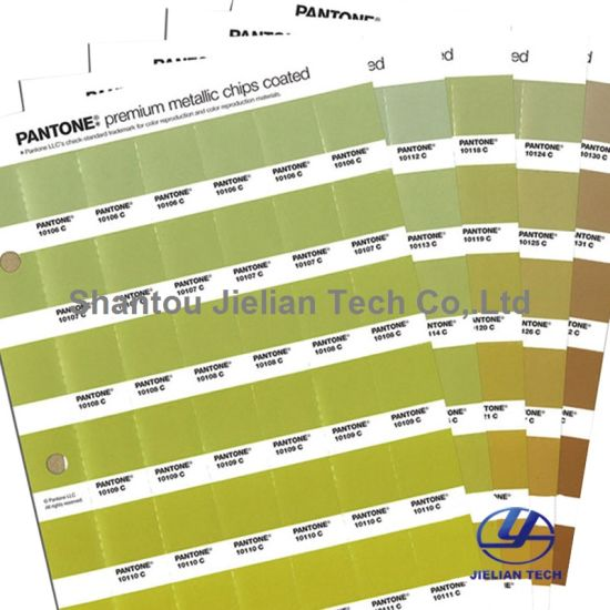 China Pantone Metallics Chip Coated Color Chart Gb1505 For Printing
