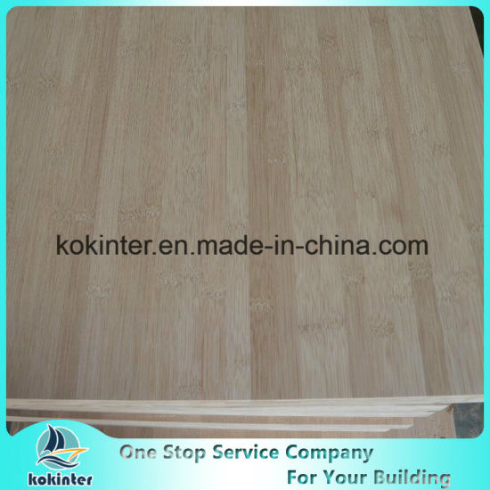 15mm 18mm 20mm 30mm 40mm Bamboo Plywood for Cabinet/Worktop/Countertop/Floor/Skateboard pictures & photos
