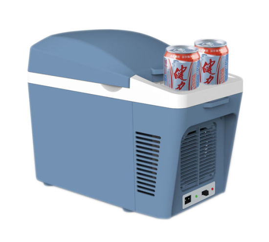 Car Mini Fridge 7 Liter DC12V for Cooling and Warming Application pictures & photos