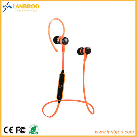 Stereo Wireless Bt Sports in-Ear Headphone Noise Cancelling for Smart Phones pictures & photos