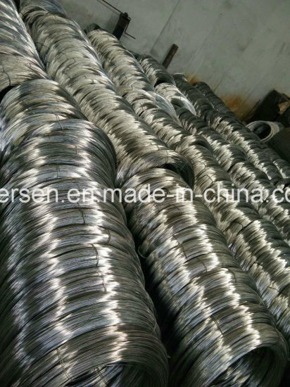 4-32# Gauge Iron Steel Gi Electro Galvanized Wire pictures & photos