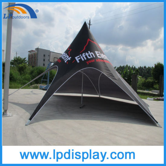 Outdoor Single Top Customs Printing Advertising Canopy Star Shape Tent pictures & photos