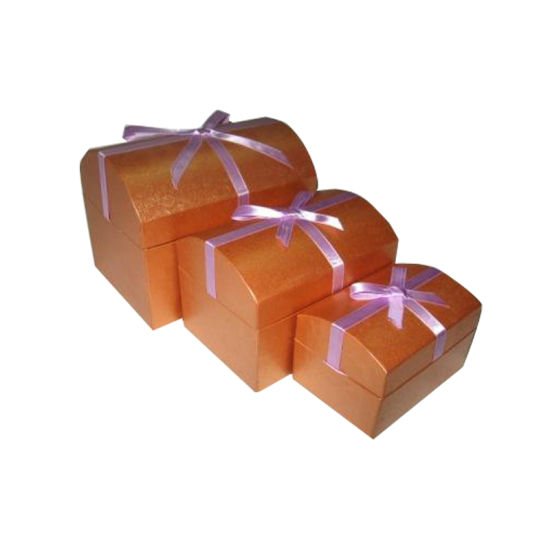3 Sizes Paper Gift Box with Ribbon pictures & photos