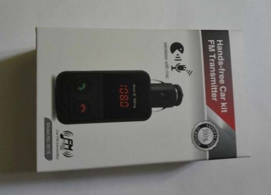 LED Digital Display Car MP3 Player Hands-Free Bluetooth FM Transmitter pictures & photos