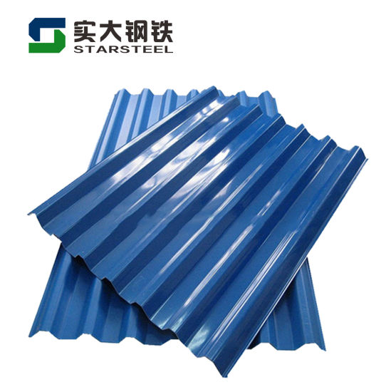 Prepainted PPGI Embossed Color Coated Galvanized Steel Roofing Sheet
