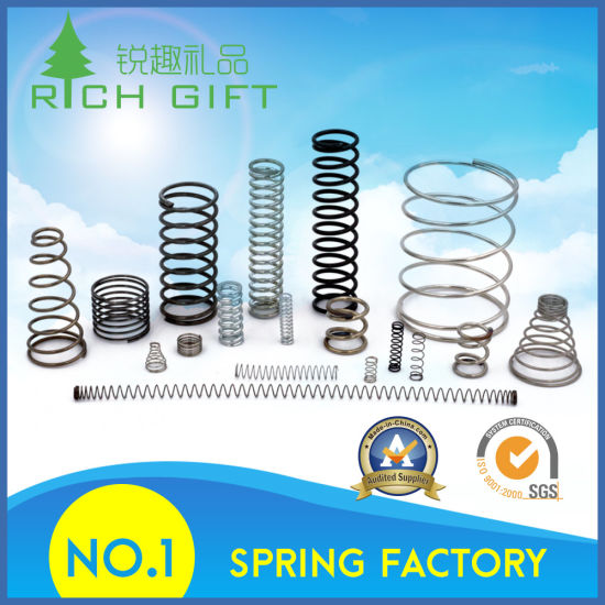 Factory Supply Custom Design Steel Helical Coil Mechanical Suspension Spring pictures & photos