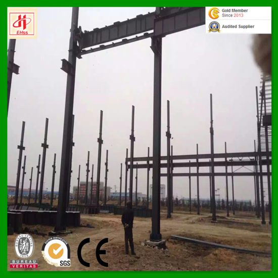 Hot Sale and Economic Building Steel Workshop with SGS Standard pictures & photos