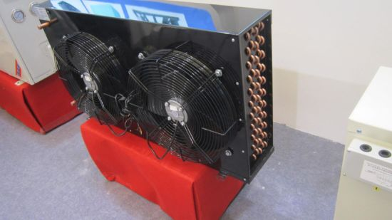 China Hot Sale Fin Type Air Condenser for Refrigeration Unit pictures & photos