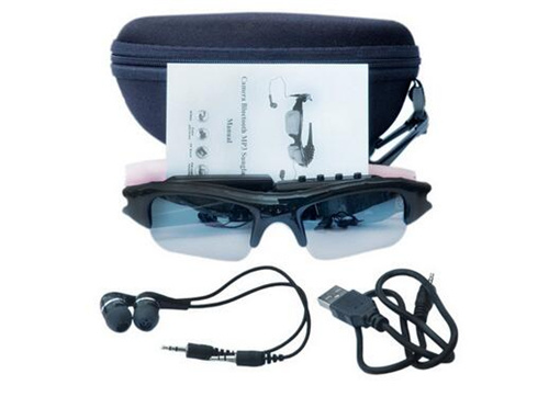 Sports 720p Bluetooth Sunglasses Headphone with Camera+ MP3 Music Player pictures & photos
