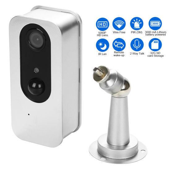 1080P 2 Way Aduio WiFi Battery Power IP Camera with Remote Control pictures & photos