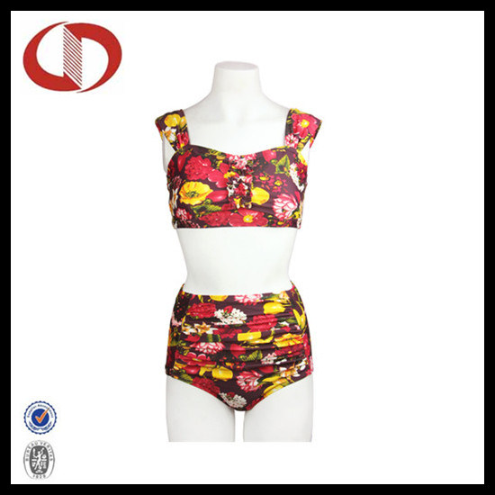 Wholesale Women Swimwear Ladies Two Pieces Swimming Suit pictures & photos